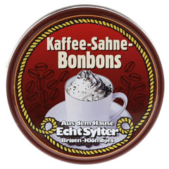 ECHT SYLTER Ins.Klömbjes Kaffee/Sahne 70 Gramm