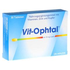 VIT OPHTAL mit 10 mg Lutein Tabletten 30 Stück