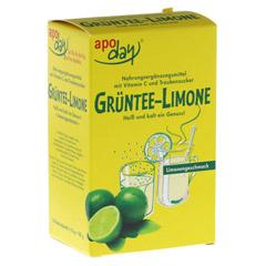 APODAY Limone Vitamin C+Grüntee-Extrakt Pulver 10x10 Gramm