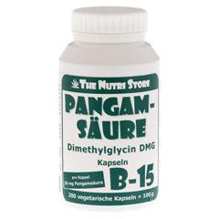 PANGAMSÄURE B15 50 mg vegetarische Kapseln 200 Stück