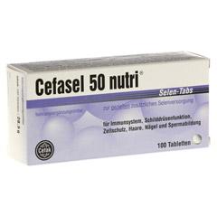 CEFASEL 50 nutri Selen-Tabs 100 Stück