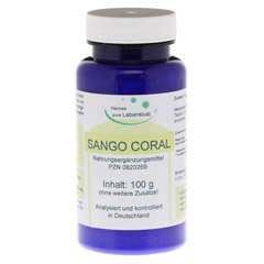 SANGO CORAL Pulver 100 Gramm