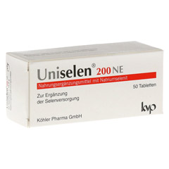 UNISELEN 200 NE Tabletten 50 Stück