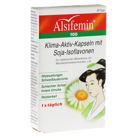 ALSIFEMIN 100 Klima-Aktiv m.Soja 1x1 Kapseln 30 Stück