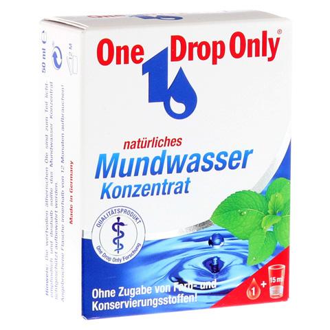 ONE DROP Only natürl.Mundwasser Konzentrat 50 Milliliter