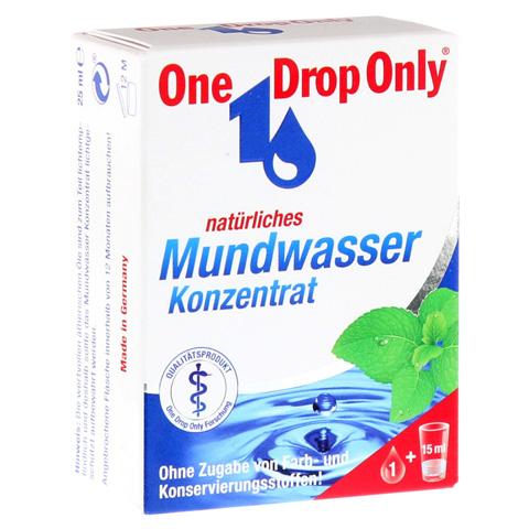 ONE DROP Only natürl.Mundwasser Konzentrat 25 Milliliter