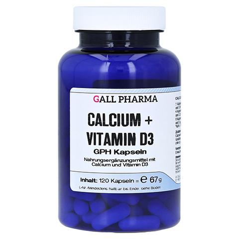 CALCIUM+VITAMIN D3 GPH Kapseln 120 Stück