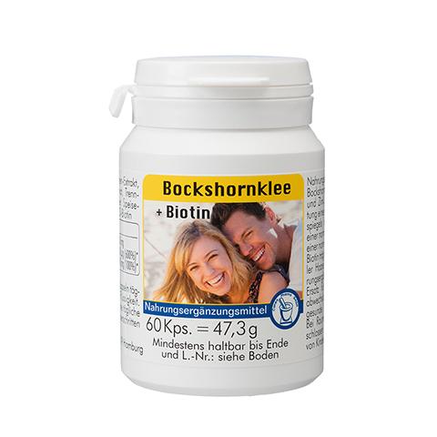 BOCKSHORNKLEE+Biotin Kapseln 60 Stück
