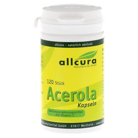 ACEROLA KAPSELN natürl.Vitamin C 120 Stück