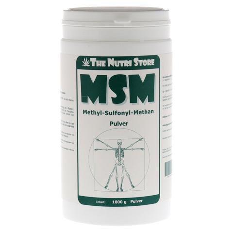 MSM 100% rein Pulver 1000 Gramm