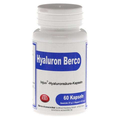 HYALURON BERCO Injuv Kapseln 60 Stück