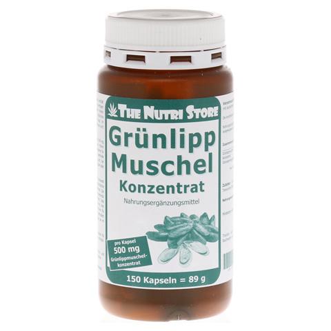 GRÜNLIPPMUSCHEL 500 mg Konzentrat Kapseln 150 Stück