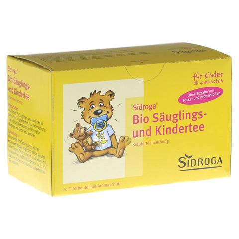 SIDROGA Bio Säuglings- und Kindertee Filterbeutel 20x1.3 Gramm