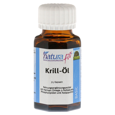 NATURAFIT Krill-Öl Kapseln 75 Stück