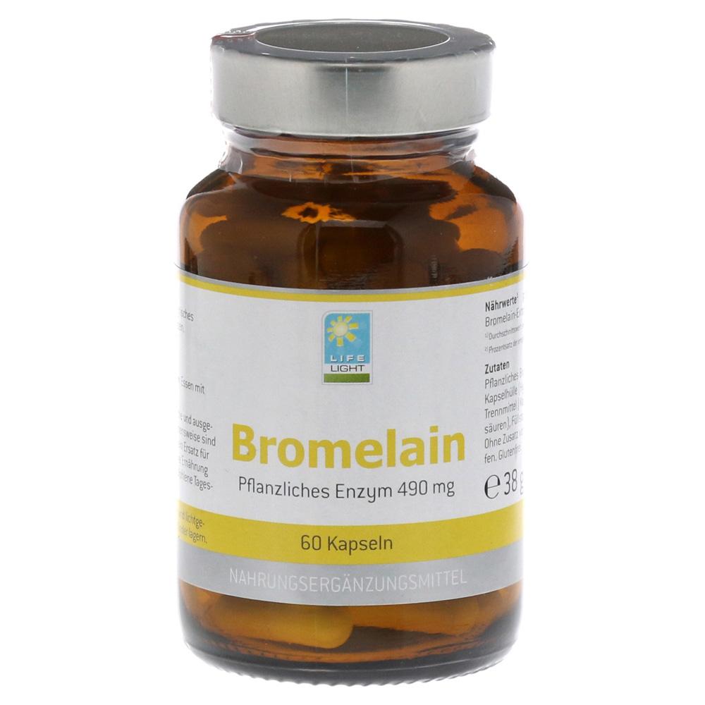 bromelain 500 mg kapseln 60 st ck online bestellen medpex versandapotheke. Black Bedroom Furniture Sets. Home Design Ideas