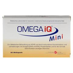 OMEGA IQ Mini Kapseln 60 Stück - Vorderseite