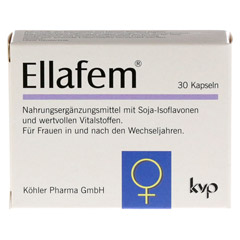 ELLAFEM Kapseln 30 Stück - Vorderseite