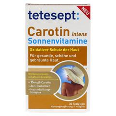 TETESEPT Carotin intens Sonnenvitamine 30 Stück - Vorderseite