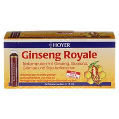 HOYER Ginseng Royale Trinkampullen 14x15 Milliliter - Vorderseite