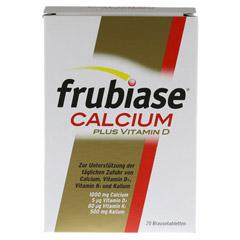 FRUBIASE CALCIUM+Vitamin D Brausetabletten 20 Stück - Vorderseite