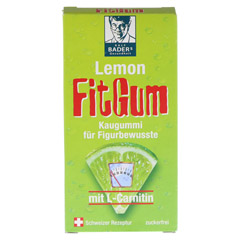 LEMON FIT Gum 31 Gramm - Vorderseite