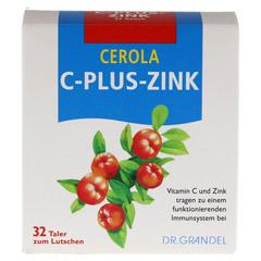 CEROLA C plus Zink Taler Grandel 32 Stück - Vorderseite