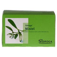 SIDROGA Mistel Tee Filterbeutel 20 Stück - Vorderseite