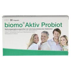 BIOMO Aktiv Probiot Kapseln 30 Stück - Vorderseite