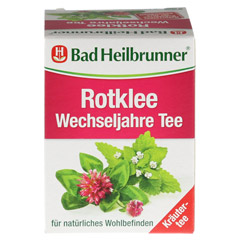 BAD HEILBRUNNER Tee Rotklee Wechseljahre Fbtl. 8 Stück - Vorderseite