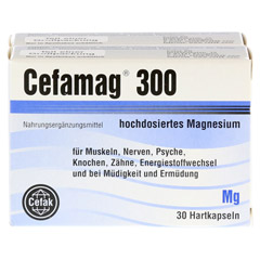 CEFAMAG 300 Hartkapseln 60 Stück - Vorderseite