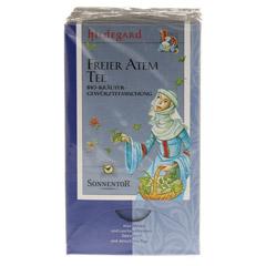 Sonnentor Hildegard Freier Atem-Tee 18 Stück - Vorderseite