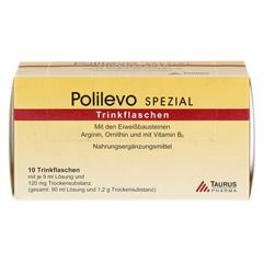 POLILEVO spezial Trinkflaschen 10x9 Milliliter - Vorderseite
