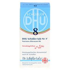 BIOCHEMIE DHU 8 Natrium chloratum D 6 Globuli 10 Gramm N1 - Vorderseite