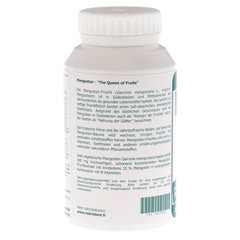 MANGOSTAN Garcinia mangostana 500 mg Kapseln 200 Stück - Linke Seite
