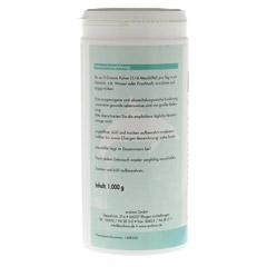 KREATIN 100% Pur Pulver 1000 Gramm - Linke Seite