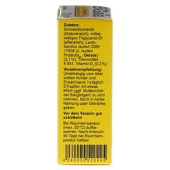 BIGAIA plus Vitamin D3 Tropfen 10 Milliliter - Linke Seite