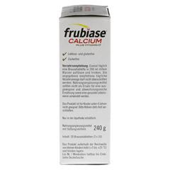 FRUBIASE CALCIUM+Vitamin D Brausetabletten 20 Stück - Linke Seite
