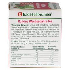 BAD HEILBRUNNER Tee Rotklee Wechseljahre Fbtl. 8 Stück - Linke Seite