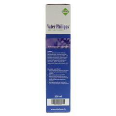 VATER PHILIPPS Nervenstärker Liquidum 500 Milliliter - Linke Seite