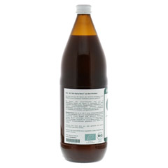 GOJI 100% Bioactive Saft 1000 Milliliter - Linke Seite