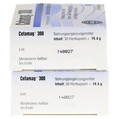 CEFAMAG 300 Hartkapseln 60 Stück - Linke Seite