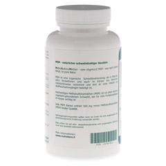 MSM 500 mg Methylsulfonylmethan Kapseln 250 Stück - Linke Seite
