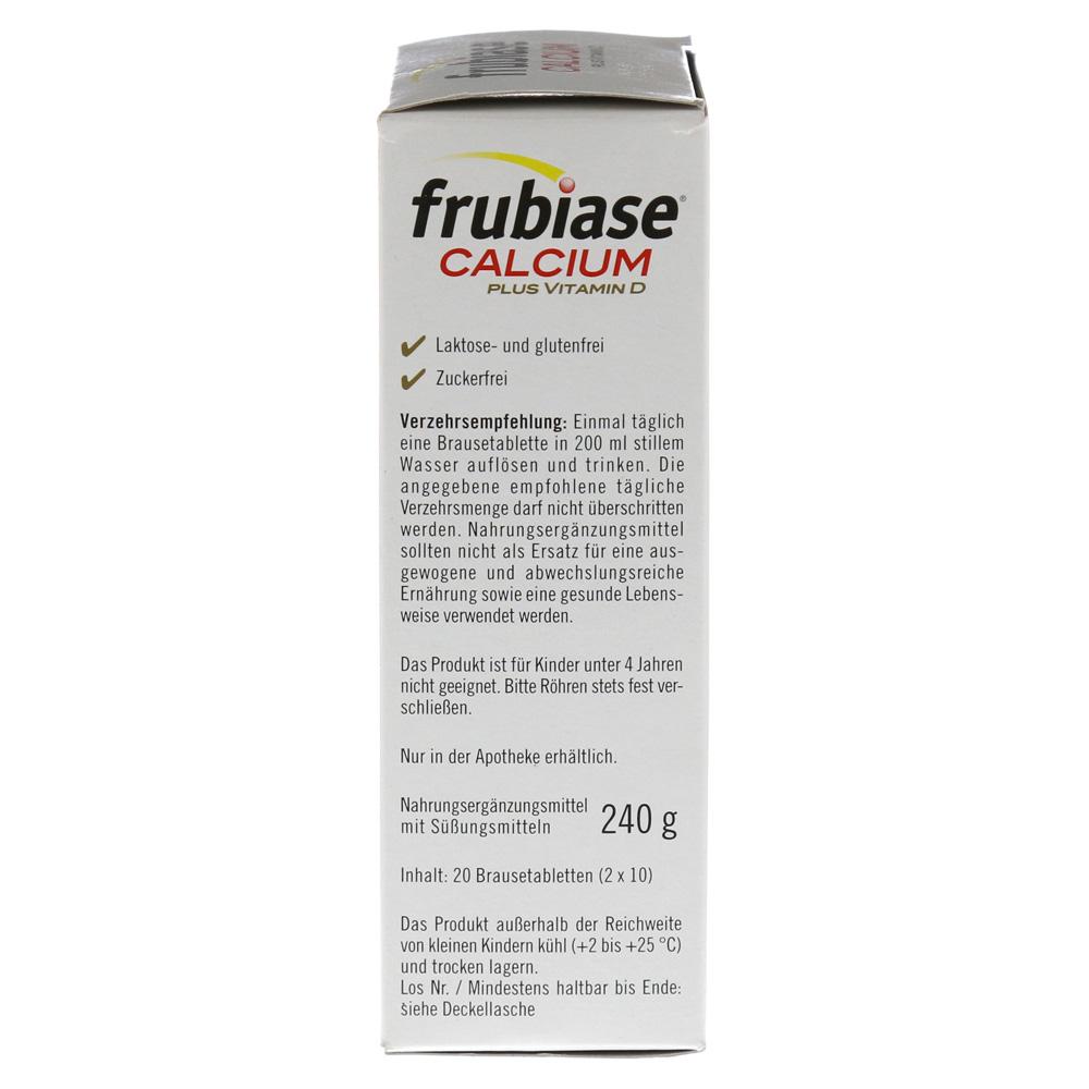 frubiase calcium vitamin d brausetabletten 20 st ck online. Black Bedroom Furniture Sets. Home Design Ideas