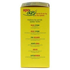 APODAY Limone Vitamin C+Grüntee-Extrakt Pulver 10x10 Gramm - Rechte Seite