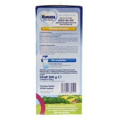 HUMANA SL Pulver milchfreie Spezialnahrung Pulver 500 Gramm - Rechte Seite
