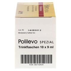 POLILEVO spezial Trinkflaschen 10x9 Milliliter - Rechte Seite