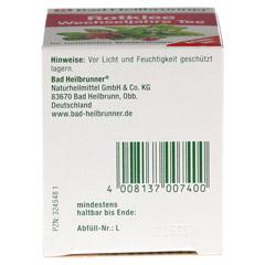 BAD HEILBRUNNER Tee Rotklee Wechseljahre Fbtl. 8 Stück - Unterseite