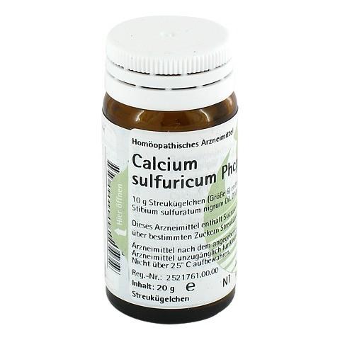 CALCIUM SULFURICUM PHCP Globuli 20 Gramm N1