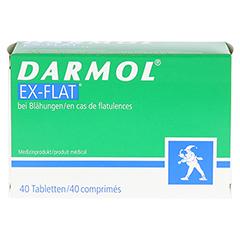 DARMOL EX-FLAT magensaftresistente Tabletten 40 Stück - Vorderseite