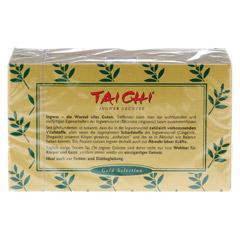 TAI CHI Ingwer Grüntee Filterbeutel 20 Stück - Rückseite